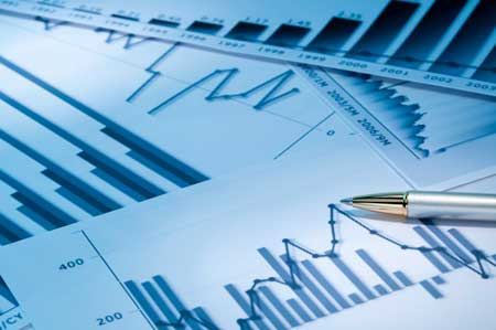 Graph and charts by iStockphoto