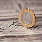 A Brazilian Real on a stock graph by iStockphoto