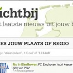 Dichtbij website