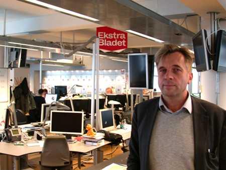 Geir Terje Ruud, the editor of Ekstrabladet.dk