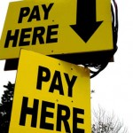 Pay where by Marc Falardeau from Flickr