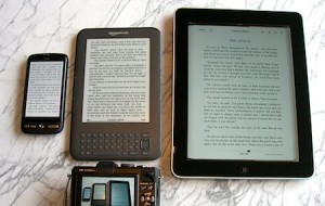 eBooks and Screens, by Edvvc, from Flickr, Some Rights Reserved