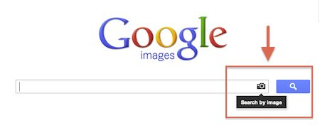 Google Image Search visual search option