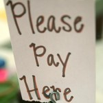 Please Pay Here, by Steven Depolo, from Flickr, Some Rights Reserved